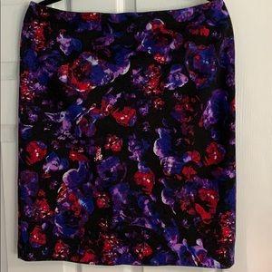Grace Element Floral Pencil Skirt Size Large